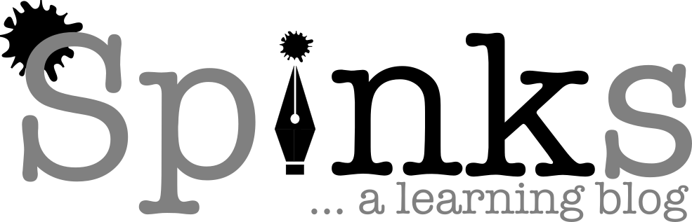 Spinks Ink - a new learning blog
