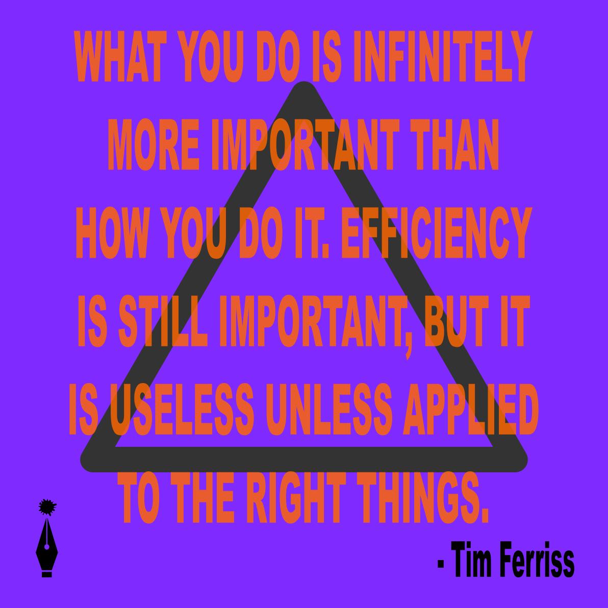 Tim Ferriss quote