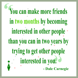 Are We More Interested in Others?