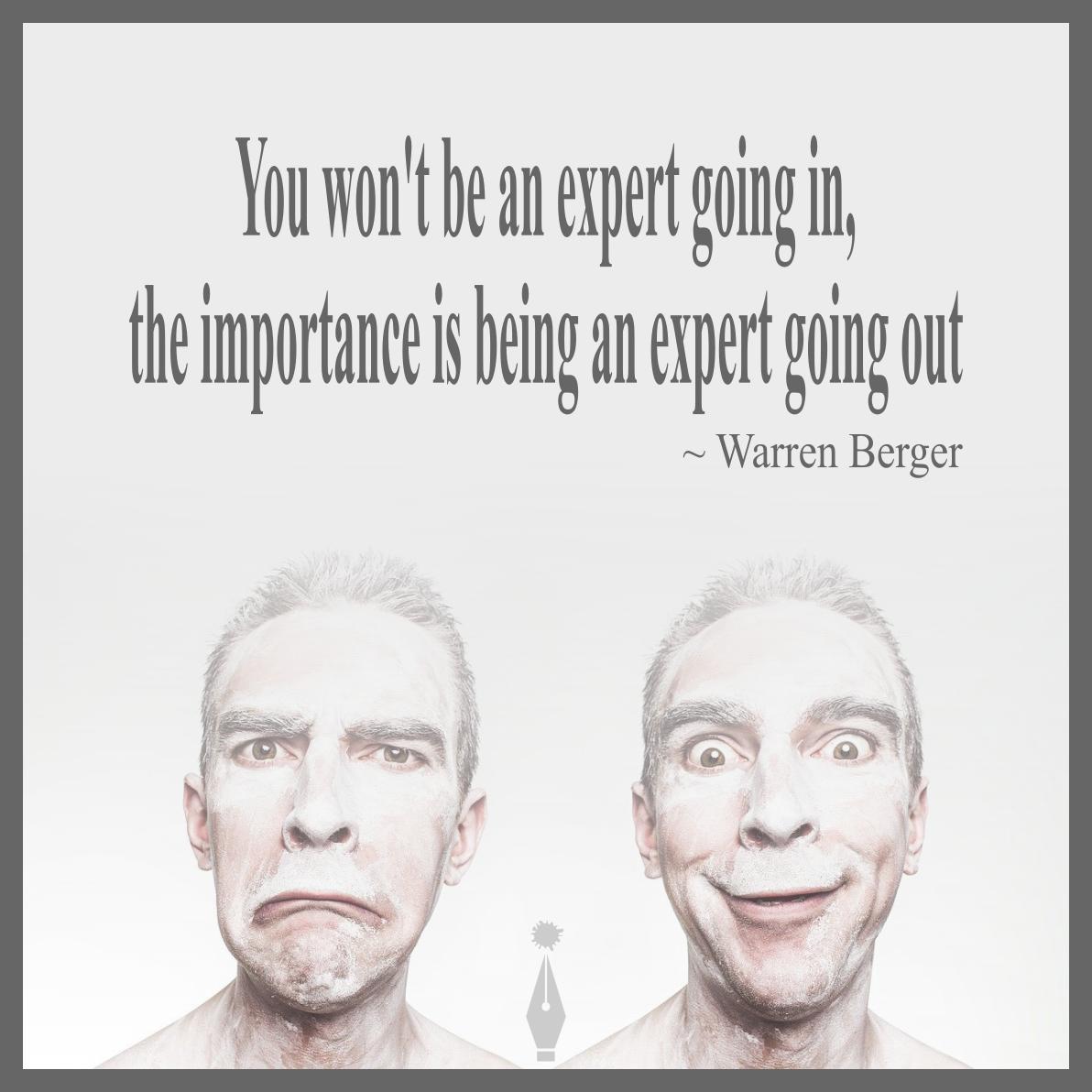 Warren Berger quote