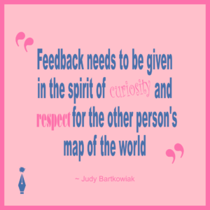 A Lesson Learned About Feedback