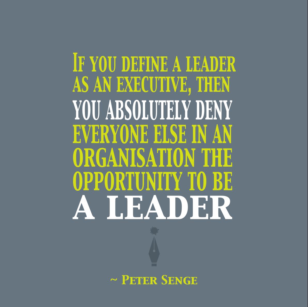 Peter Senge quote